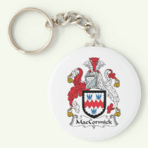 MacCormick Family Crest Keychain