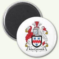 MacCormick Family Crest Magnet