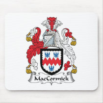 MacCormick Family Crest Mousepad