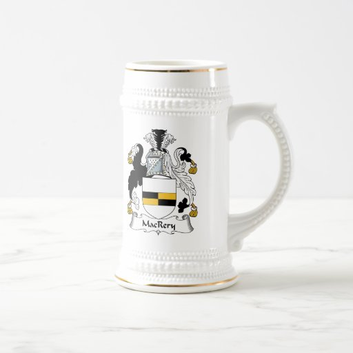 MacCrery Family Crest 18 Oz Beer Stein
