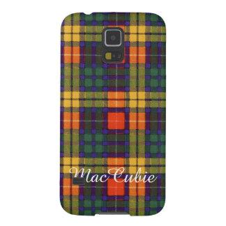 MacCubie clan Plaid Scottish kilt tartan Galaxy S5 Case