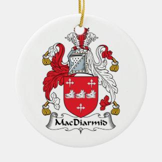 MacDiarmid Family Crest Christmas Ornaments