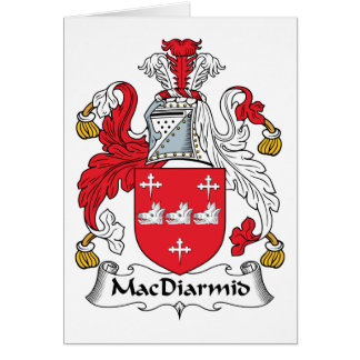 MacDiarmid Family Crest Greeting Cards