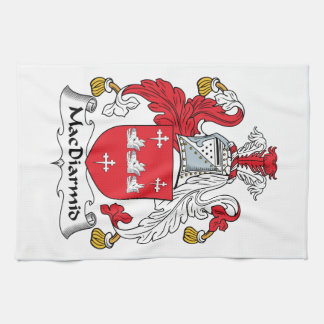 MacDiarmid Family Crest Hand Towels