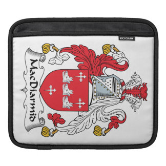 MacDiarmid Family Crest iPad Sleeves