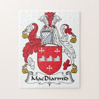 MacDiarmid Family Crest Jigsaw Puzzle