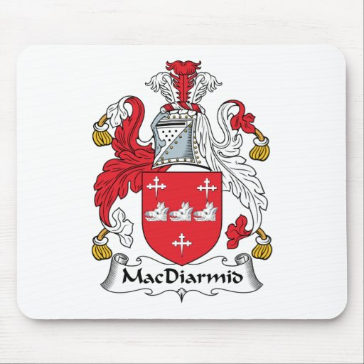 MacDiarmid Family Crest Mouse Pads