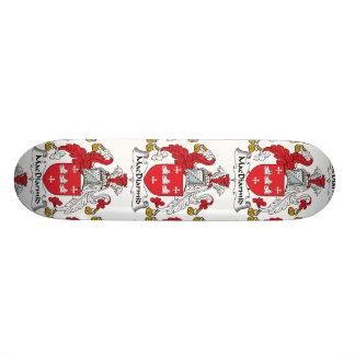 MacDiarmid Family Crest Skate Board Decks