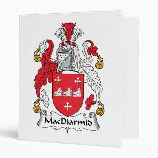 MacDiarmid Family Crest Vinyl Binder