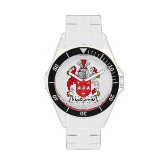 MacDiarmid Family Crest Wristwatch