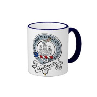 MacDonald Clan Badge Ringer Mug