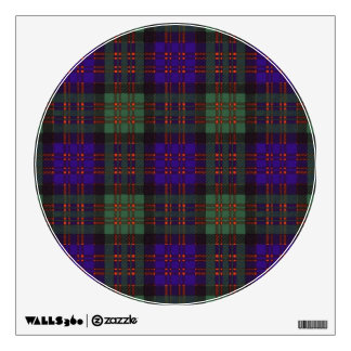 Macdonald Clan Plaid Scottish tartan Wall Sticker