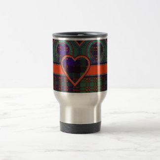Macdonald Clan Scottish tartan Travel Mug