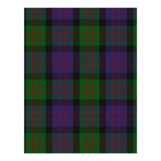 MacDonald Clan Tartan Letterhead Design