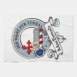 MacDonald de la insignia del clan de Sleat Toallas De Cocina
