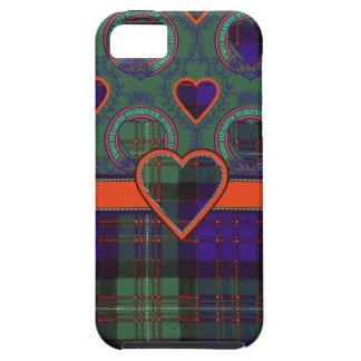 Macdonald de la tela escocesa de tartán escocesa iPhone 5 Case-Mate cobertura