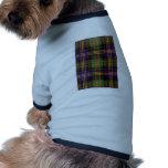 MACDONALD FAMILY TARTAN DOG CLOTHING