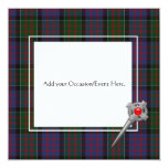 MacDonald of Clanranald Tartan Plaid Invitations 2