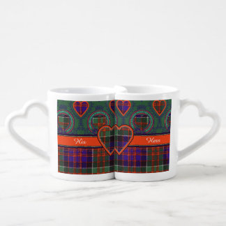 Macdonald of Clanranalld Plaid Scottish tartan Couples Coffee Mug