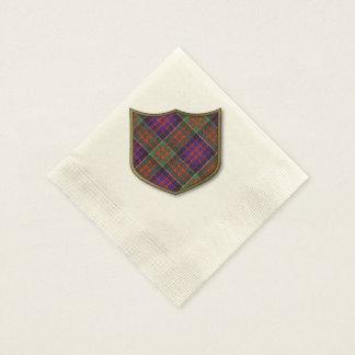 Macdonald of Clanranalld Plaid Scottish tartan Napkin