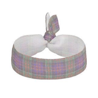 Macdonald of Clanranalld Plaid Scottish tartan Elastic Hair Ties