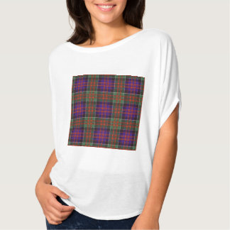 Macdonald of Clanranalld Plaid Scottish tartan T-Shirt