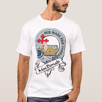 MacDonald of Donald Clan Badge T-Shirt