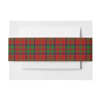 MacDonald Of Glencoe Scottish Tartan Belly Band