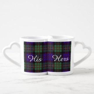 Macdonald of Glengarry clan Plaid Scottish tartan Couples Coffee Mug