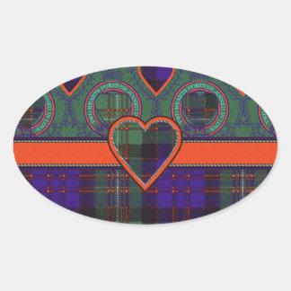 Macdonald of Glengarry Scottish tartan Sticker