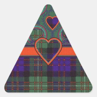 Macdonald of Glengarry Scottish tartan Stickers