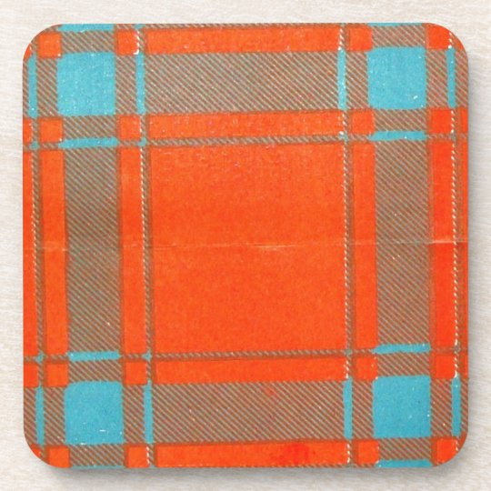 MACDONALD of SLATE FAMILY TARTAN Coaster