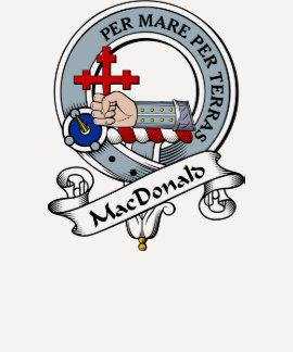 MacDonald of Sleat Clan Badge T-shirts