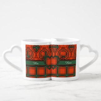 Macdonald of Sleate Plaid Scottish tartan Coffee Mug Set