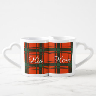 Macdonald of Sleate Plaid Scottish tartan Couples Coffee Mug