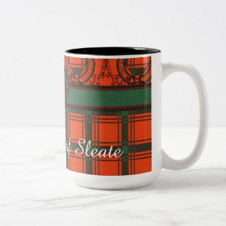 Macdonald of Sleate Plaid Scottish tartan Two-Tone Coffee Mug