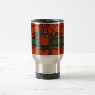 Macdonald of Sleate Scottish Tartan Travel Mug