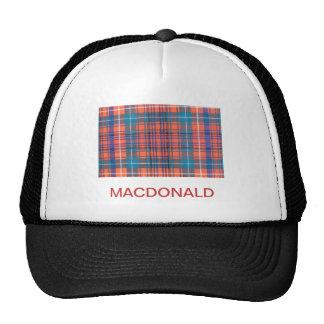 MACDONALD of STAFFA FAMILY TARTAN Trucker Hat