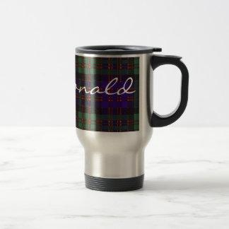 MacDonald Scottish Tartan Travel Mug