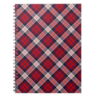 MacDonald Tartan Notebook