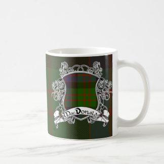 MacDonald Tartan Shield Coffee Mug