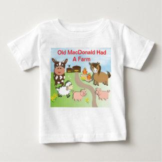 MacDonald viejo lindo tenía un tema de la granja T Shirt