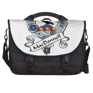 MacDonnell Clan Badge Laptop Messenger Bag