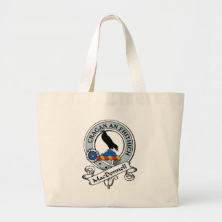 MacDonnell of Glengarry Clan Badge Canvas Bag