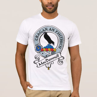 MacDonnell of Glengarry Clan Badge T-Shirt