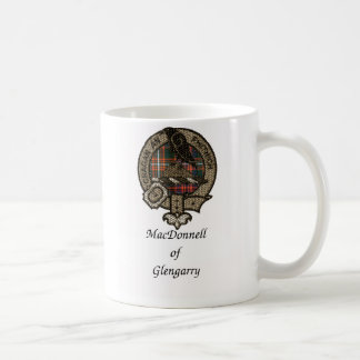 Macdonnell Of Glengarry Clan Crest Coffee Mug