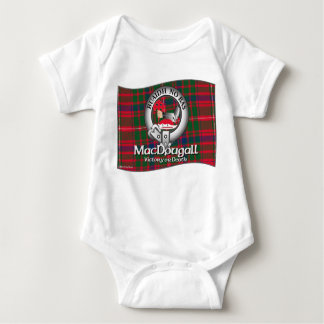 MacDougall Clan Apparel Baby Bodysuit