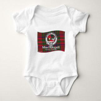 MacDougall Clan Baby Bodysuit