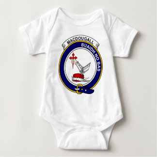 MacDougall Clan Badge Baby Bodysuit
