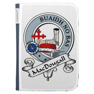 MacDougall Clan Badge Cases For The Kindle